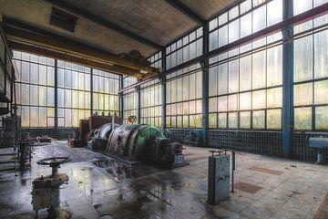 De oude turbine von Truus Nijland