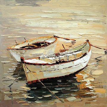 Two Sail Boats van David Potter