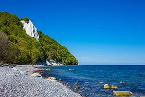 An der Küste der Ostsee auf der Insel Rügen