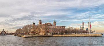 Immigratiemuseum in Ellis Island-New York City, VS-Daglicht van Mohamed Abdelrazek