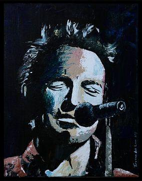 Bruce Springsteen von Tim van der Laan