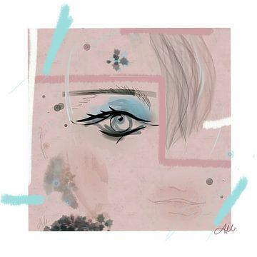Meer blauw van Csilla Albert