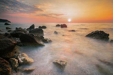 Goldener Sonnenuntergang von Roelie Steinmann