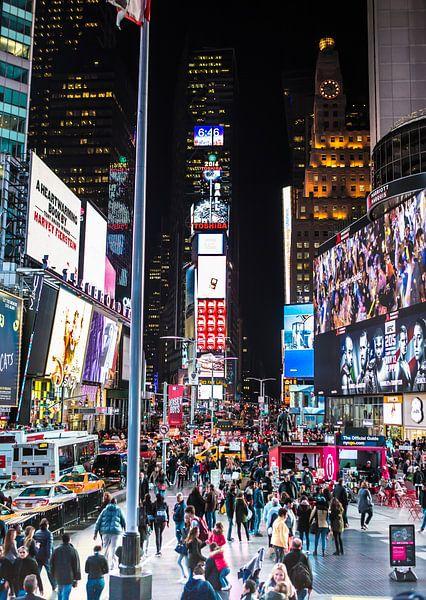 Time Square, New York van Maarten Egas Reparaz