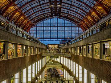 Gare centrale d'Anvers sur Natascha Worseling