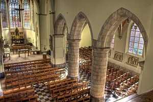 Gotic church Oelegem
