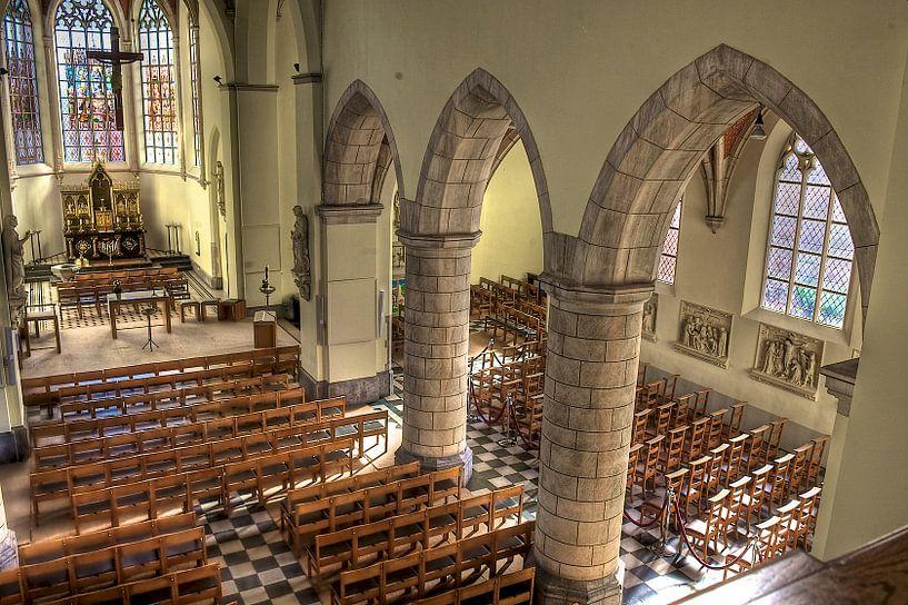 Gotic church Oelegem von rudi smet