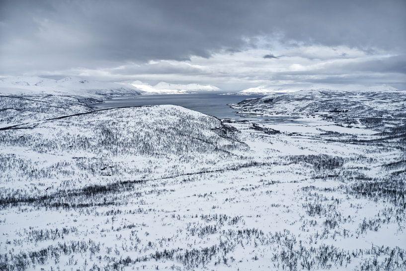 Fjordlandschaft von Michael Wolf