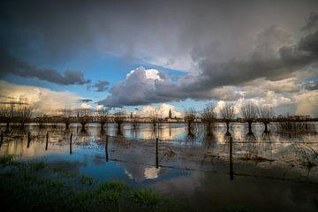 Skyline Zutphen von Arnold van Rooij