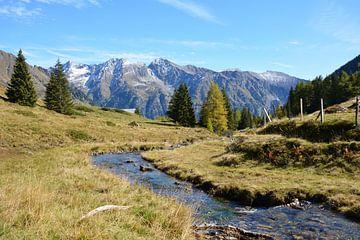 Berglandschaft Wirpitschsee Österreich von My Footprints