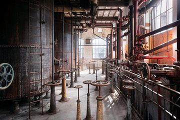 Verlassene Industrie. von Roman Robroek