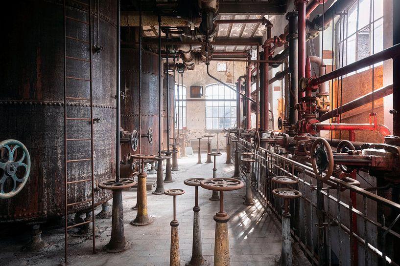 Verlaten Industrie. van Roman Robroek