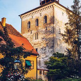 Zagreb - Lotrscak Tower van Alexander Voss