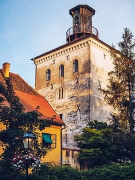Zagreb - Lotrscak Tower van