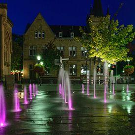 Brunnen am Alten Markt van Heinz Grates
