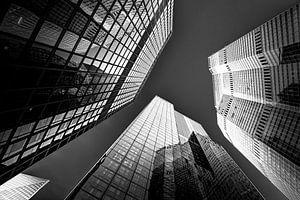 Zwart/wit fotografie London van Helga van de Kar