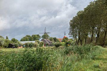 Dorf in Ostfriesland van Rolf Pötsch