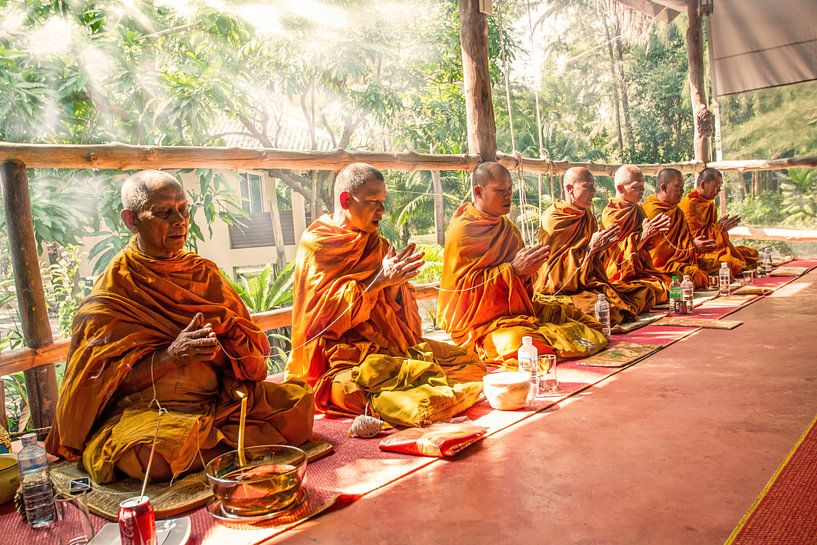 Zeremonie der Mönche auf Koh Phayam von Levent Weber