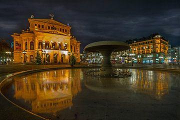 Mainhattan, Frankfurt Deutschland von Dennis Donders