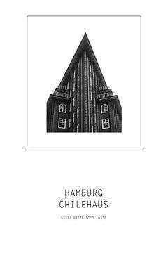 Chilehaus Hamburg von Der HanseArt