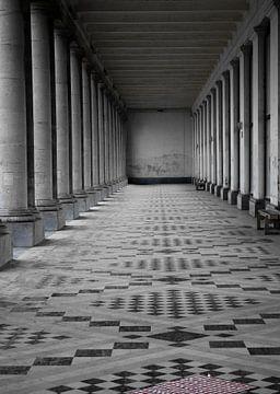 Foto des Thermenpalastes in Ostende. von Therese Brals
