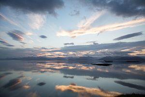 Uitzicht op Vatnajokull