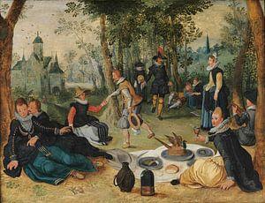 Picknickscène, Sebastiaen Vrancx