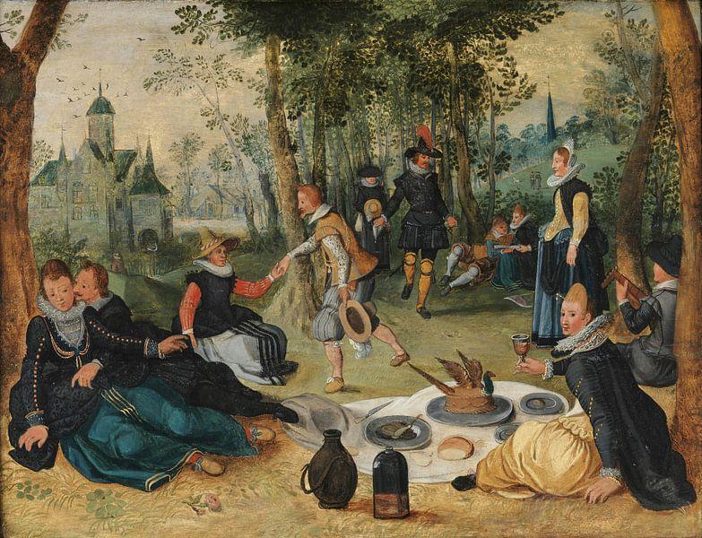 Picknickscène, Sebastiaen Vrancx van Meesterlijcke Meesters