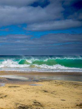 Oceaan kracht 1 van Corrie Heesbeen
