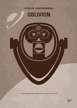 No217 My Oblivion minimal movie poster van Chungkong Art