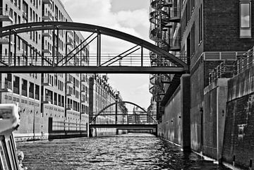 Boottocht door de Speicherstadt van Norbert Sülzner