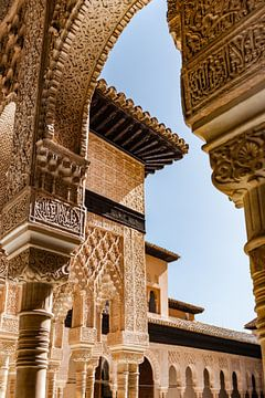 Architectuur van het Alhambra van Fotografiecor .nl