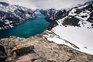 Besseggen (Jotunheimen, Noorwegen) van