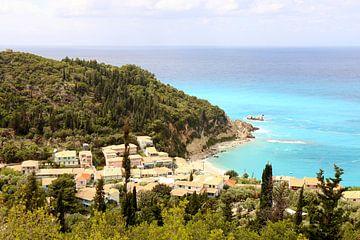 Badeort Agios Nikitas / Griechische Insel Lefkada von Shot it fotografie
