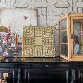 Kundenfoto: Art Deco Motiv von Andrea Haase, auf leinwand