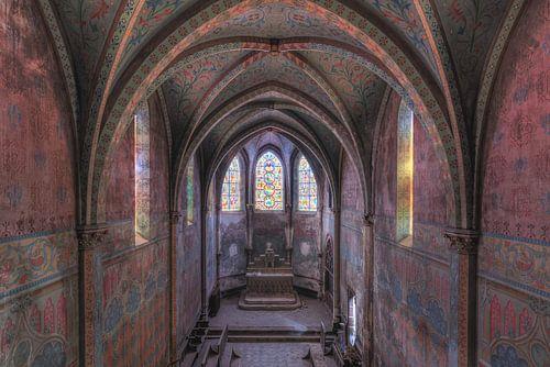 Kleurrijk klooster van