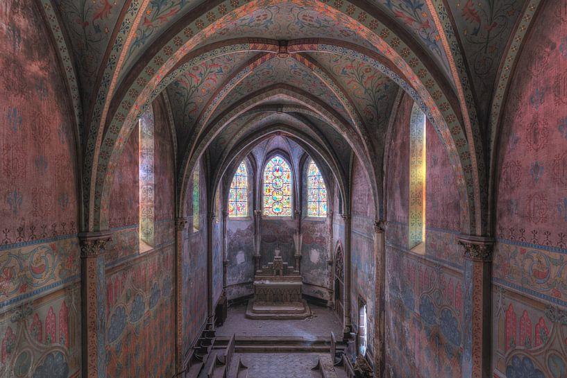Kleurrijk klooster van Perry Wiertz