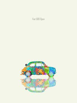 Fiat 500 Offen von Joost Hogervorst