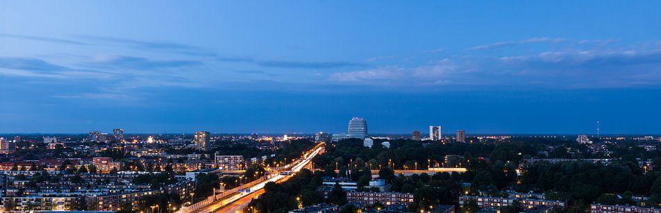 Panorama Groningen Zuid-Oost van Frenk Volt