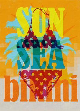 Sun sea bikini van Joost Hogervorst