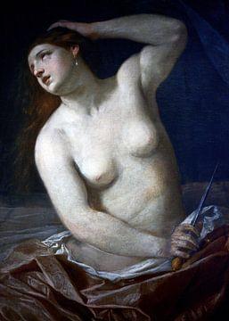 Der Tod von Lucretia - Guido Reni, 1634 von Atelier Liesjes