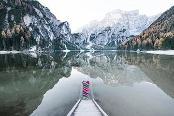 Lago Di Braies sur Brian Decrop