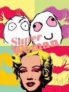 Super Woman Marilyn van