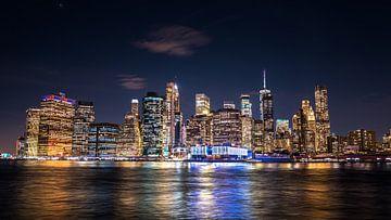 De beroemde skyline van New York City van Koen Hoekemeijer