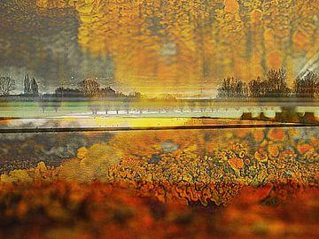 Niederländische Landschaft von Anita Snik-Broeken