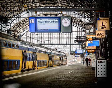 Perron 3 van Yvon van der Wijk