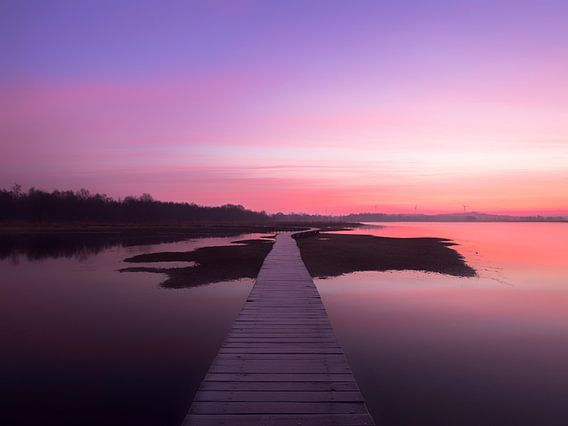 Kleurrijke ochtend