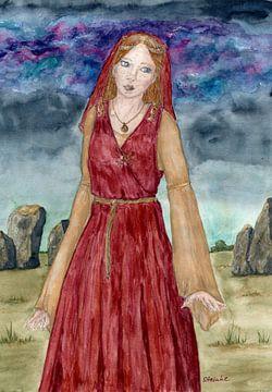 Die Druidin von Sandra Steinke