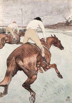 De jockey, Henri de Toulouse-Lautrec - 1899