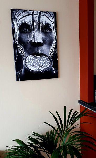 Kundenfoto: Tribal Schönheit - Äthiopien, Mursi Leute, Sergio Pandolfini von 1x